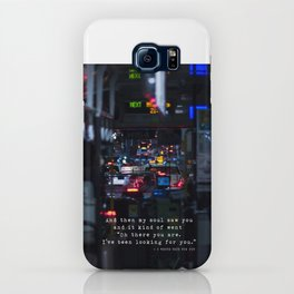 The Point Of Contact iPhone Case