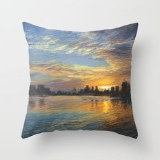 Esplanade 6 Throw Pillow