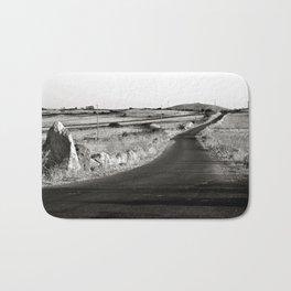 Abandoned Country Road - Sardinia - Italy Bath Mat