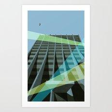 Uno Prii Apartment Building Art Print