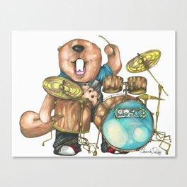 Bob's Drums  Canvas Print