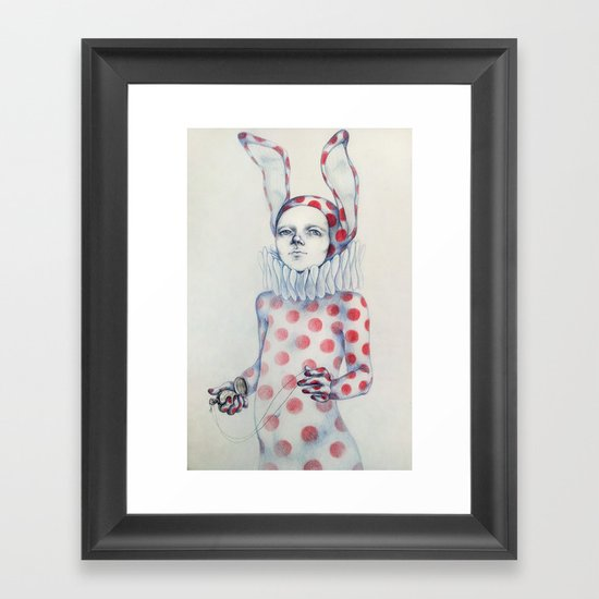It is time Framed Art Print