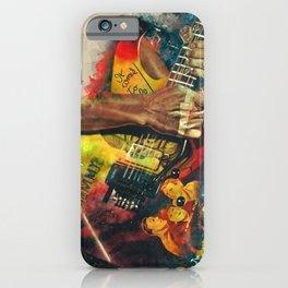 Kirk Hammett's Mummy Guitar iPhone Case