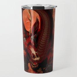 Elemental Fire Dragon Travel Mug