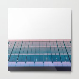 Parallel & Perpendicular Lines Metal Print