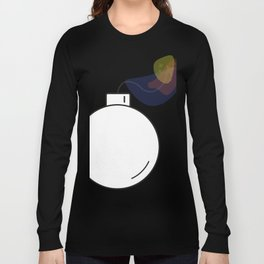 Bomb with burning fuse - Vector Long Sleeve T-shirt