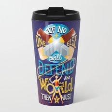 Defend your world v2 Travel Mug