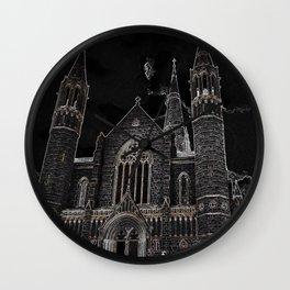 Sacred Heart Cathedral Bendigo Wall Clock