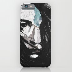 Poverty is the cruelest murder iPhone 6s Slim Case