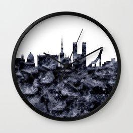 Oslo Skyline Norway Wall Clock