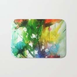 Poppy Passion Bath Mat