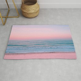 Gorgeous Pink Sunset Rug