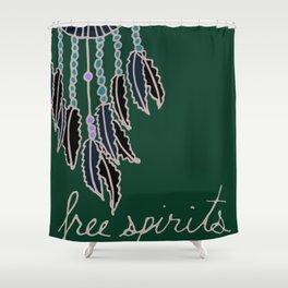 Bohemian Free Spirits Shower Curtain