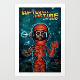 After All This Time Art Print