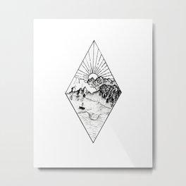 New Zealand's beauty *Te Anau Metal Print