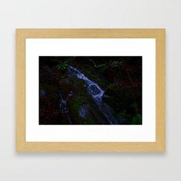Magickal Waterfall Framed Art Print