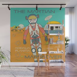 The Martian Wall Mural
