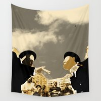 theatre Wall Tapestries featuring Orthodox Street Theatre by Design4u Studio