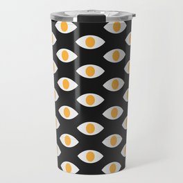 eye pattern Travel Mug