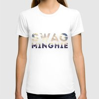swag T-shirts featuring Swag by matteolasi