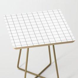 White Grid  /// www.pencilmeinstationery.com Side Table