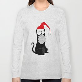 Santa Claws  Long Sleeve T-shirt