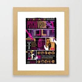 Spook Show Tribute Poster 03 Framed Art Print