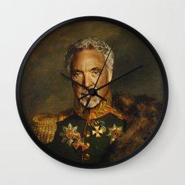 Sir Tom Jones - replaceface Wall Clock