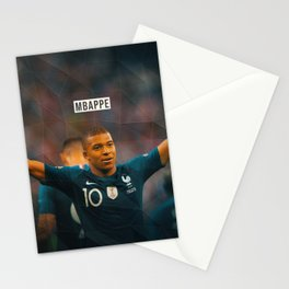 Kylian Mbappe Stationery Cards