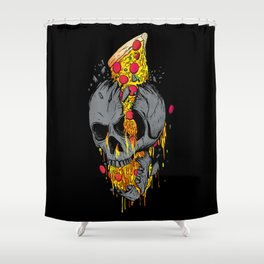Rest in Pizza Shower Curtain