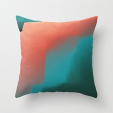 Dream of Coral Throw Pillow