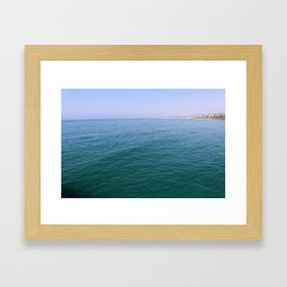 Pier View Framed Art Print