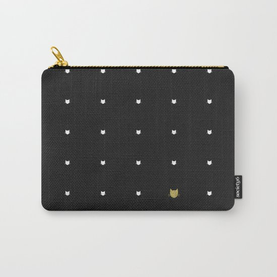 One Golden Cat  Carry-All Pouch