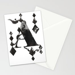 A alphabet Stationery Cards