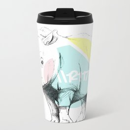 //RINO Metal Travel Mug