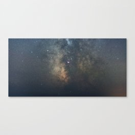 The Galactic Center Canvas Print