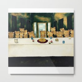 The Real Last Supper Metal Print