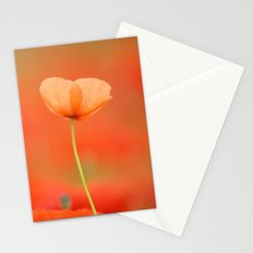 Two poppies 1873 Stationery Cards