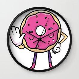 Hallo Donut Wall Clock