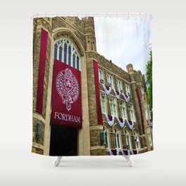 Keating Hall at Fordham University Commencement  Shower Curtain
