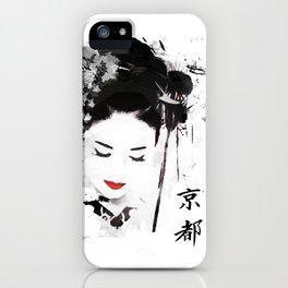 Kyoto Geisha iPhone Case