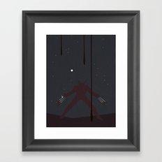 Knives Out Framed Art Print