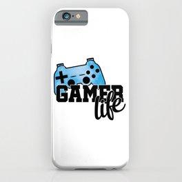 Gamer life iPhone Case