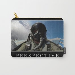 Perspective: Inspirational Quote and Motivational Poster Carry-All Pouch