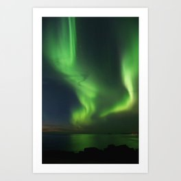 The Northern Lights 08 Art Print