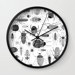 Ink Beetles Wall Clock
