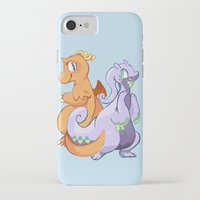dragons iPhone & iPod Cases featuring Dragons by Rinnai-Rai