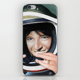 Sally Ride iPhone Skin