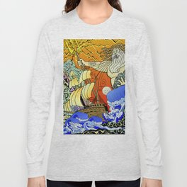 Tales of the Trident:Poseidon Long Sleeve T-shirt