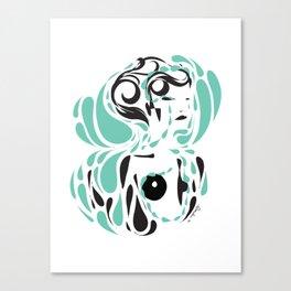 Love me, please love me - Emilie Record Canvas Print